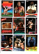 WWE Booker T Wrestling Lot of 9 Trading Cards With Insert & Poster B