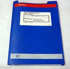 Reparatiebrochure VW Polo 6N 4LV inspuit- en ontstekingssysteem ab 1995