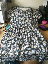 "LADIES CATH KIDSTON BEAUTIFUL PARROT DESIGN MINI DRESS SIZE 10 34"" WITH POCKETS"