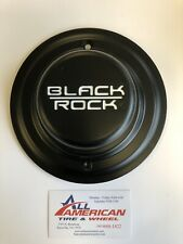 BLACK ROCK Black Custom Wheel Center Cap # A102F
