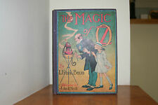 The Magic of Oz by L. Frank Baum 1919 later edition with B&W illustrations