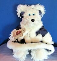 T.J.'s Best Dressed Collection Sonja Frostbeary Boyds Toy Bear Faux Fur & Velet