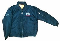 toyota man's jacket with embroidered logo  size  XL
