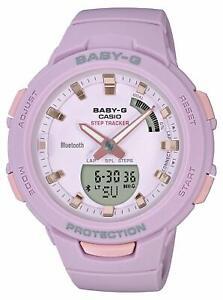 Casio Watch Baby Gee G-SQUAD Smartphone Link BSA-B100-4A2JF Women's Pink