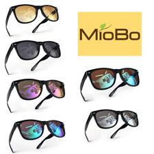Miobo Hochwertige UV400 CAT 3 CE Nerd Sonnenbrille Retro Vintage