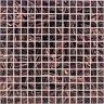 Glasmosaik Fliesen Kupfer dunkelbraun Wand Boden Dusche |10 Matten | ES-65547 _f