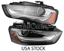AUDI A4 B8 FL 2012-2016 XENON ADAPTIVE HEADLIGHT RIGHT & LEFT SIDE OEM USA NEW