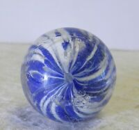#12390m German Handmade Onionskin Shooter Marble .83 Inches