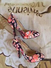 Nouveau Vivienne Westwood Anglomania Melissa Hilary Fleur Cour Chaussures Taille 36 UK 3