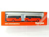 Herpa 143530 Kässbohrer Setra SG 221 UL Gelenkbus rot/weiß  1:87/ H0