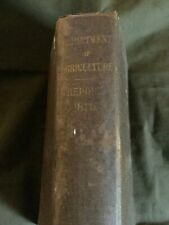 1879 Department of Agriculture Report