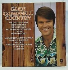 GLEN CAMPBELL - vintage vinyl LP - Glen Campbell Country
