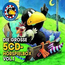5 CDs * DER KLEINE RABE SOCKE - DIE GROSSE 5-CD HÖRSPIEL BOX VOL. 1  # NEU OVP !