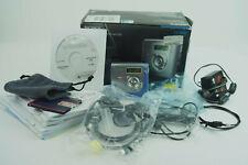 Sony MD MZ-NH700 Recorder/Player USB Minidisc Walkman blau in OVP Netzteil etc