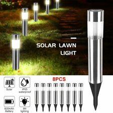 Waterproof Solar Power LED Outdoor Garden Light Lawn Pathway Landscape Lamps