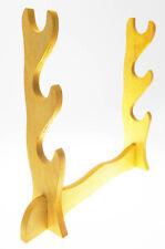 Portakatana de 3 plazas de mesa Expositores Expositor De madera Tranasparente