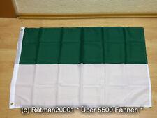 Fahnen Flagge Schützenfest Grün Weiss - 60 x 90 cm
