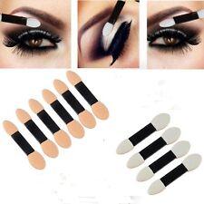 New 10Pcs Hot Makeup Double-end Eye Shadow Eyeliner Brush Sponge Applicator Tool