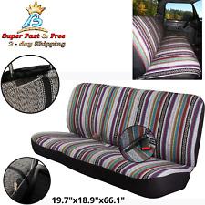 Truck Suv Car Baja Saddle Blanket Bench Seat Full Cover For Ford Chevrolet Dodge
