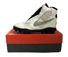 vintage nike land shark high football cleats shoes men's size 10.5 NIB NOS 1994
