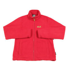 JACK WOLFSKIN Nanuk 200 Thick Fleece Jacket | Small | Hiking Walking Full Zip