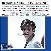 Bobby Darin, Love Swings CD   5050457108823   New