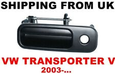 TAILGATE REAR DOOR BOOTLID LOCK HANDLE for VW TRANSPORTER V T5 MK5 CARAVELLE