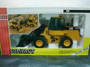 WOW EXTREMELY RARE #184 Caterpillar IT18F Wheel Loader Yellow 1:25 Joal