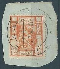 1931 LIBIA FRAMMENTO SIBILLA LIBICA 1,75 LIRE - ED1017