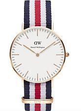 Daniel Wellington Watch * 0502DW Classic Canterbury 36MM NATO Strap #crzyj