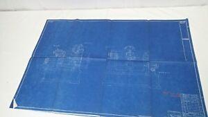 AntiqueBlueprint Industrial Art Detroit Automotive Ford Motor Co 1941 #10