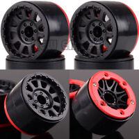 """4P 2.2"""" Beadlock Wheel Rim 6006 RC 1:10 Rock Crawler FOR SCX10 Axial WRAITH RR10"""