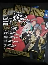 THE ROLLING STONES REVISTA ESPECIAL ROCK FM 160 PAG. MICK JAGGER RON WOOD