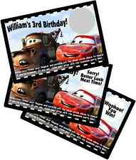 DISNEY PIXAR CARS SCRATCH OFF OFFS PARTY GAMES CARDS BIRTHDAY GAME FAVORS
