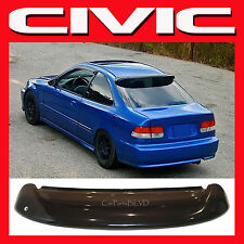 JDM 2000 CIVIC 2 DOOR EK COUPE ROOF WINDOW SPOILER with BRACKETS - REAR VISOR