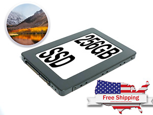 SSD For Macbook Pro 2010 2011 2012 Hard Drive SATA 256GB SSD High Sierra OS