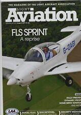 Light Aviation Magazine 2011 August FLS Sprint 160