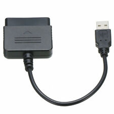 USB Controller Adapter Converter Cable Cord For Sony PlayStation PS2 To PS3 PC H
