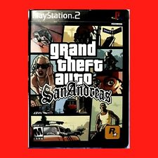Videogame-Grand Theft Auto:San Andreas Playstation 2 Ps Ps2+Hot Coffee+Complete!