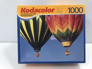 """Kodacolor 1000 Pieces Puzzle Hot Air Balloons """"Up,Up, And Away"""""""