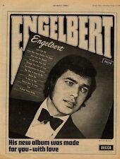 Engelbert Humperdinck UK LP Advert 1969 #2