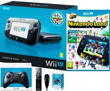 Console Nintendo Wii U Premium Pack 32GB SUPER BUNDLE Completa Come Nuova