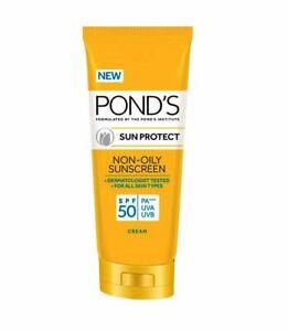 POND'S Sun Protect Non - Oily Sunscreen SPF 50 PA+++ UVA UVB Cream | 80 Gram