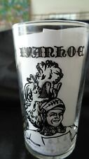 1950's Glass from TV show IVANHOE starring Roger Moore- Glass Number 1 ( of 8 )