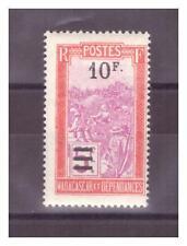 MADAGASCAR . N° 154.    10 F     SUR   5 F    NEUF   *. SUPERBE
