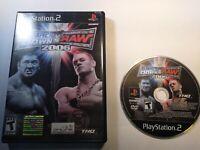 WWE SmackDown vs. Raw 2006 (Sony PlayStation 2 06 2K6 PS2 Complete CIB Wrestling