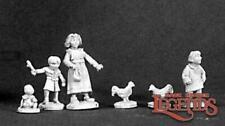 Reaper Miniatures 03233: Townsfolk X: Children - Dark Heaven Legends Metal Minia