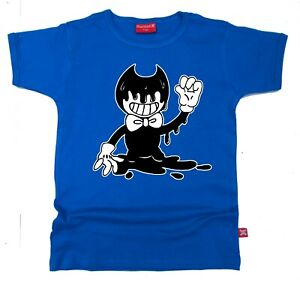 STARDUST ETHICAL BENDY & AND THE INK MACHINE KIDS CHILDRENS T-SHIRT