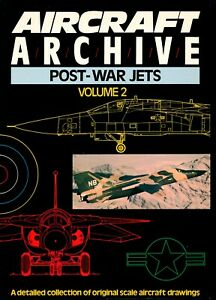 Aircraft Archive - Volume 2 - Post-War Jets (Argus Books) - New Copy