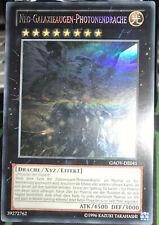 Yu-Gi-Oh! GAOV-DE041 Neo-Galaxieaugen-Photonendrache (Ghost Rare) XYZ NM SELTEN